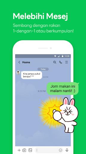 LINE: Panggilan&Mesej Percuma screenshot 1