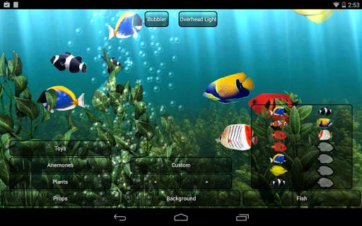 Aquarium Free Live Wallpaper screenshot 4