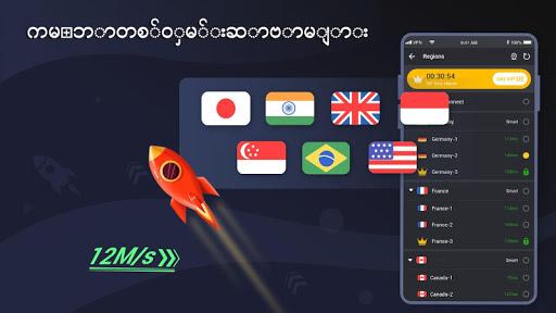 3X VPN - လုံခြုံစွာလှန်လှော Boost screenshot 3