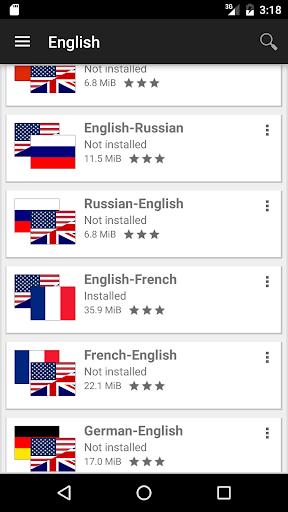 Offline dictionaries screenshot 5