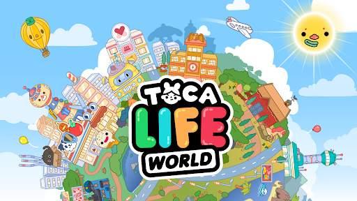 Toca Life World: Build stories & create your world screenshot 1
