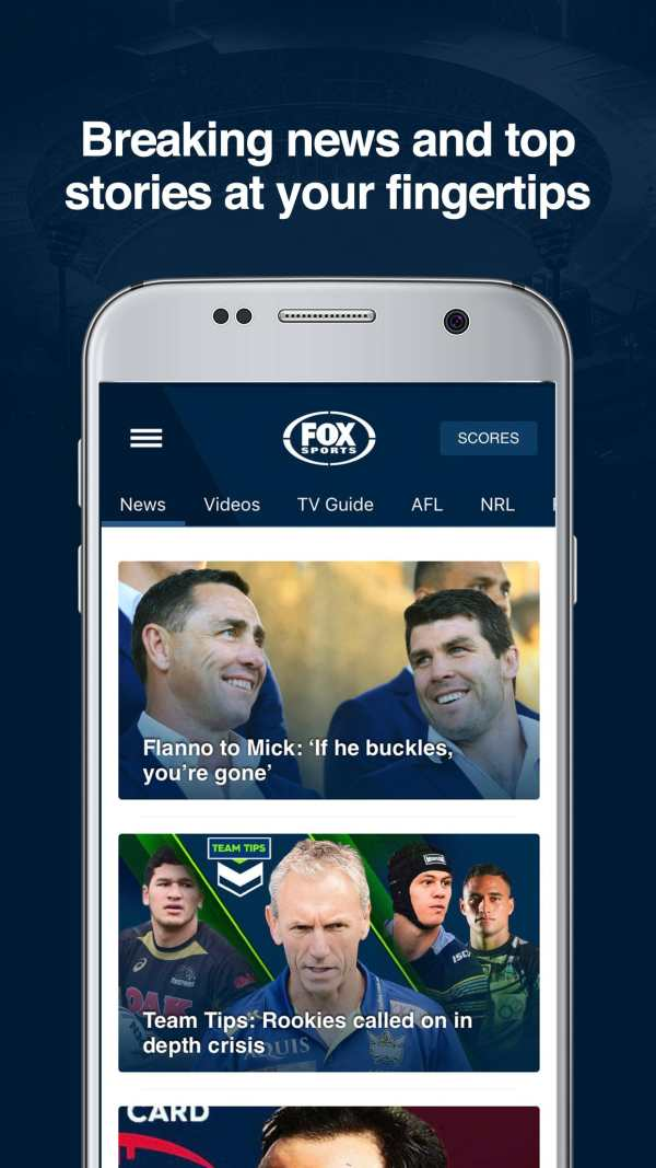 Fox Sports - AFL, NRL & Sports screenshot 6