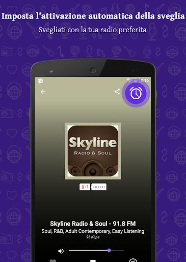 Radio FM: Stream stazioni live screenshot 5
