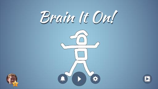 Brain It On! - Physics Puzzles 5 تصوير الشاشة