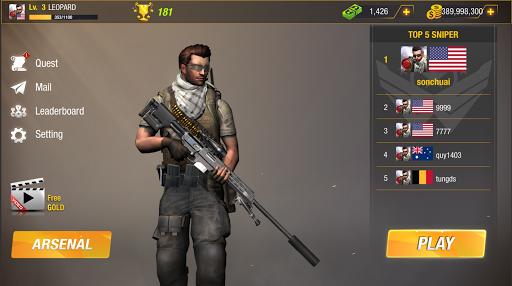 Sniper Game: Bullet Strike - Free Shooting Game screenshot 17