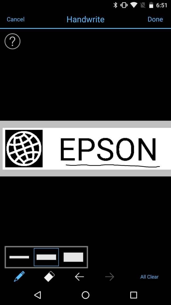 Epson iLabel screenshot 5