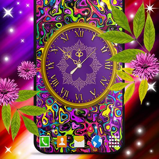 HD Clock Wallpaper ❤️ Beautiful Live Analog Clock icon