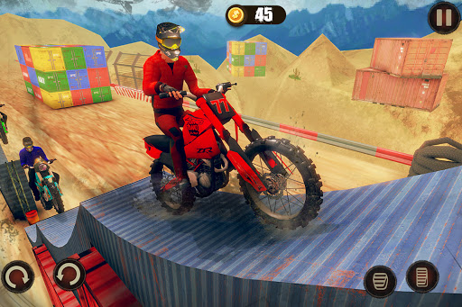 Impossible Bike Stunt Master 3D - New Moto Bike 3 تصوير الشاشة