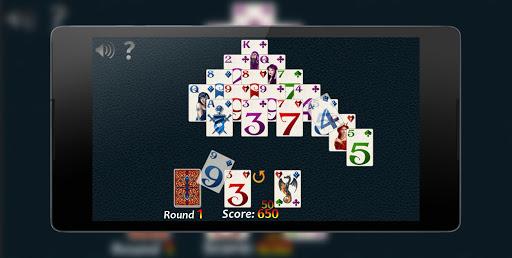 Pyramid Solitaire Fantasy 4 تصوير الشاشة