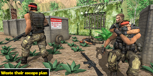 Commando behind the Jail- Escape Plan 2019 screenshot 2