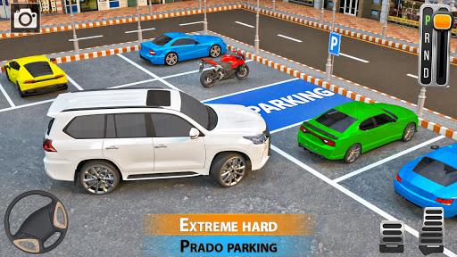 Car Parking Simulator Games: Prado Car Games 2021 screenshot 1