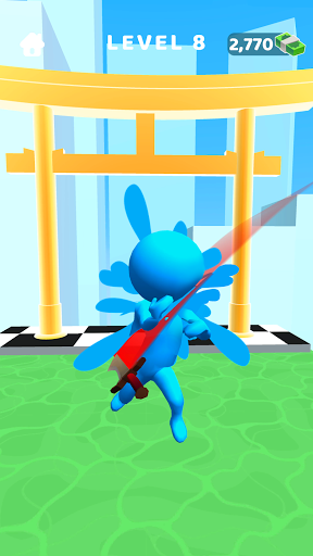 Sword Play! Ninja Slice Runner 3D screenshot 2