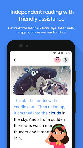 Read Along by Google: A fun reading app screenshot 1