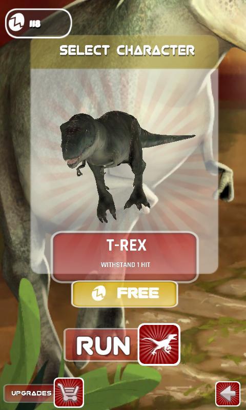Jurassic Planet -Dinosaur Game 2 تصوير الشاشة