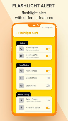 Flash on Call and SMS, Flash alerts notifications screenshot 1