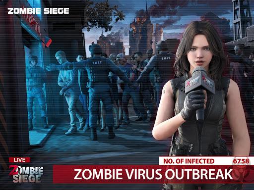 Zombie Siege: Last Civilization 6 تصوير الشاشة