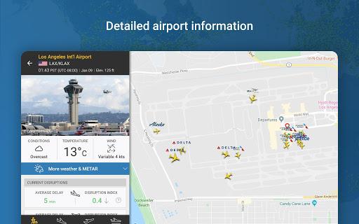 Flightradar24 Flight Tracker 12 تصوير الشاشة