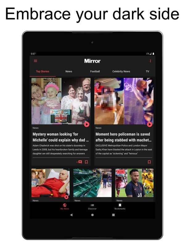 The Mirror App: Daily News screenshot 8