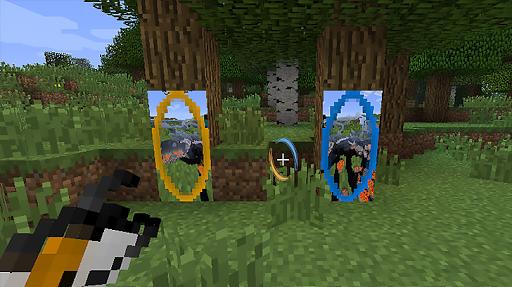 Portal mod for Minecraft 2 تصوير الشاشة