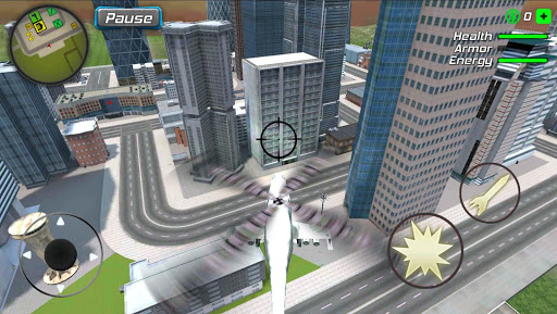 Hurricane Superhero : Wind Tornado Vegas Mafia screenshot 7