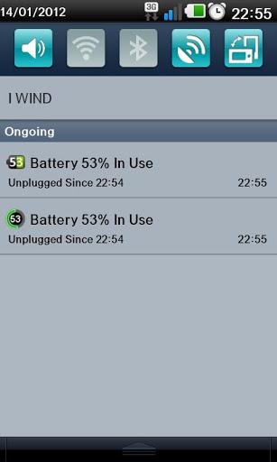 Battery Monitor Widget 6 تصوير الشاشة