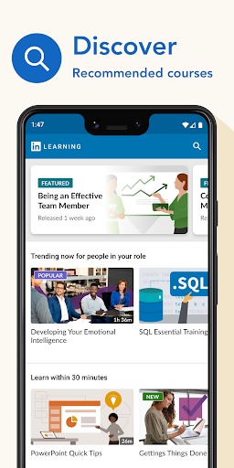 LinkedIn Learning: Online Courses to Learn Skills screenshot 1