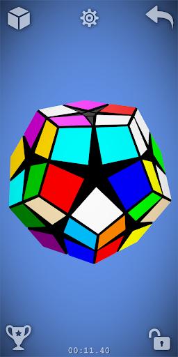 Magic Cube Puzzle 3D 7 تصوير الشاشة