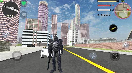 Agent Venom Rope Hero  Gngaster Crime screenshot 2