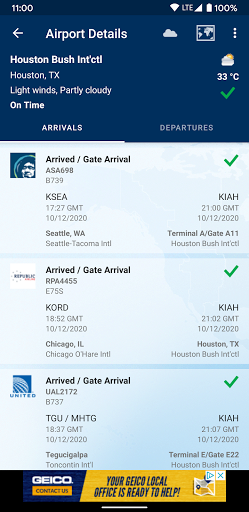 FlightAware Flight Tracker 5 تصوير الشاشة