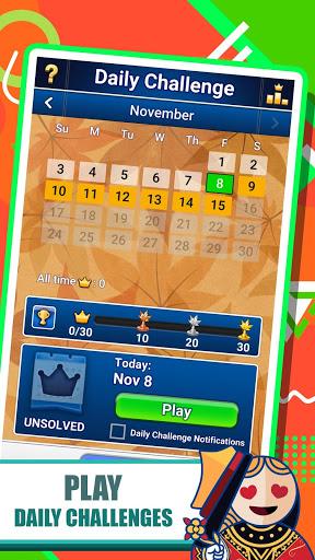 FreeCell Solitaire 5 تصوير الشاشة