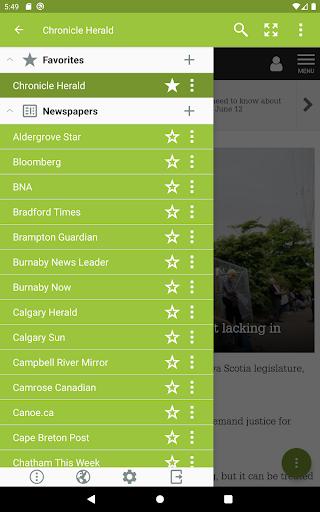World Newspapers – Local News & International News screenshot 8