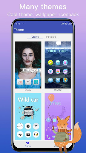 New Launcher 2021 themes, icon packs, wallpapers screenshot 4