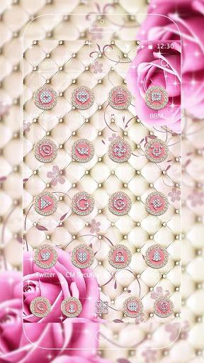 Pink Diamond Rose Theme screenshot 3