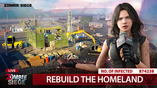 Zombie Siege: Last Civilization 3 تصوير الشاشة