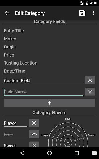 Flavordex Tasting Journal 14 تصوير الشاشة