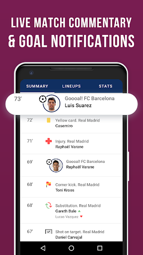 Barcelona Live — Not official app for FC Barca Fan screenshot 3