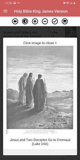 Holy Bible King James Version (Free) screenshot 6