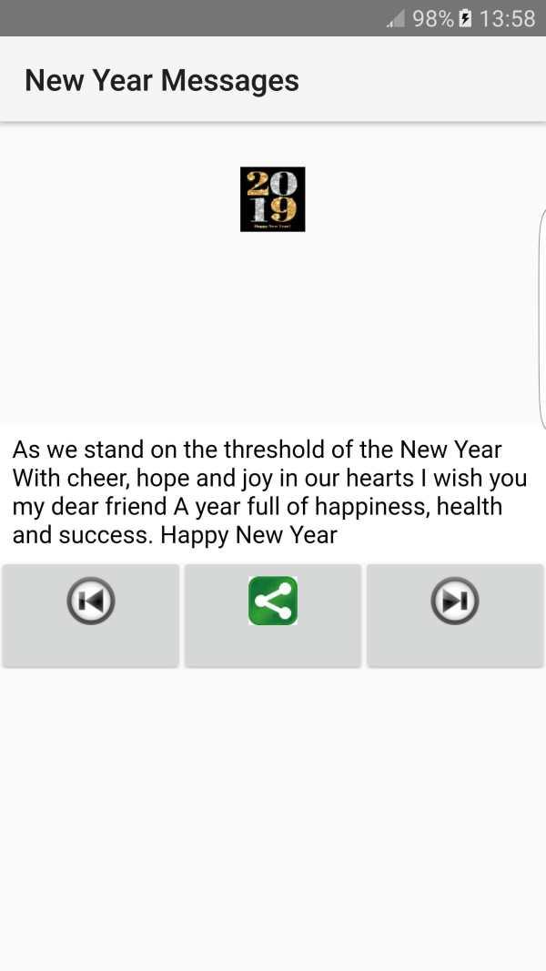 2019 New Year Messages screenshot 5