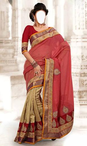 Indian Woman  Designer Saree 1 تصوير الشاشة