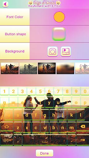 الخلفية لوحة المفاتيح 3 تصوير الشاشة