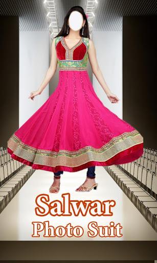 Salwar Suit For Girls : Women Salwar Photo Suit 1 تصوير الشاشة