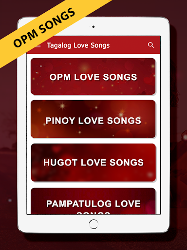 OPM Love Songs : OPM Tagalog Love Songs 9 تصوير الشاشة