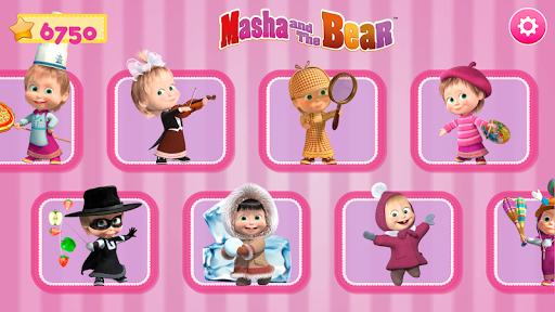 Masha and the Bear. Games & Activities स्क्रीनशॉट 9