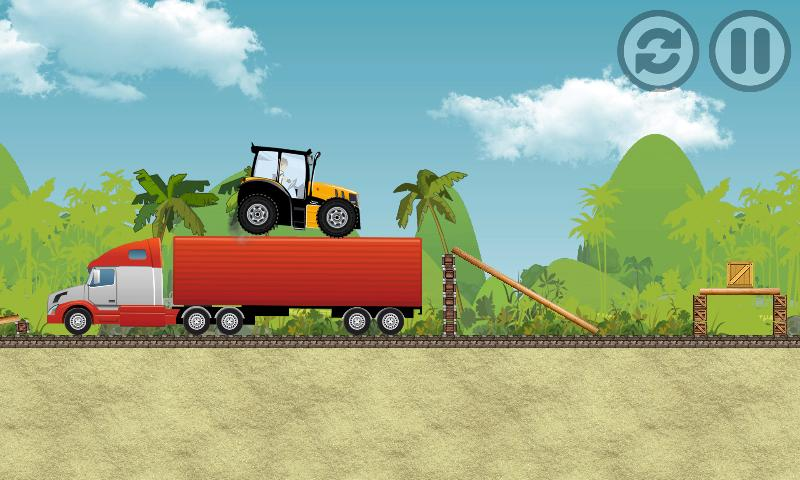 Tractor Farm Power Racing 4 تصوير الشاشة
