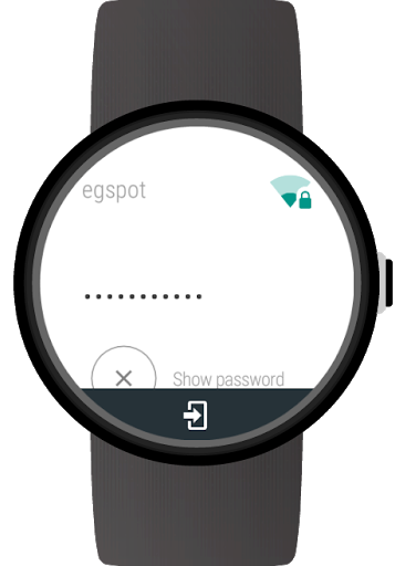 Wi-Fi Manager for Wear OS (Android Wear) screenshot 3