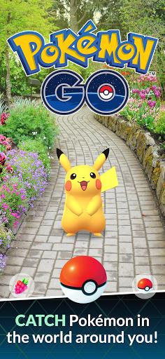 Pokémon GO 1 تصوير الشاشة