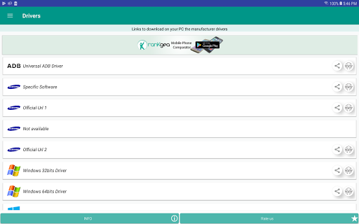 USB Driver for Android Devices screenshot 11