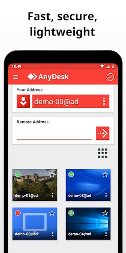 AnyDesk Remote Control 2 تصوير الشاشة