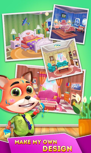 Cat Runner: Decorate Home screenshot 3