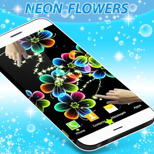 زهور النيون لايف للجدران 1 تصوير الشاشة